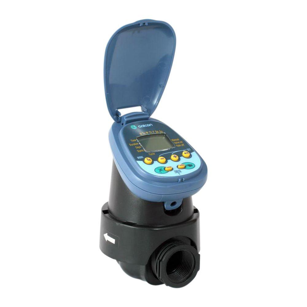7001D Battery Operated Controller with 1.5 in. Inline Valve and DC