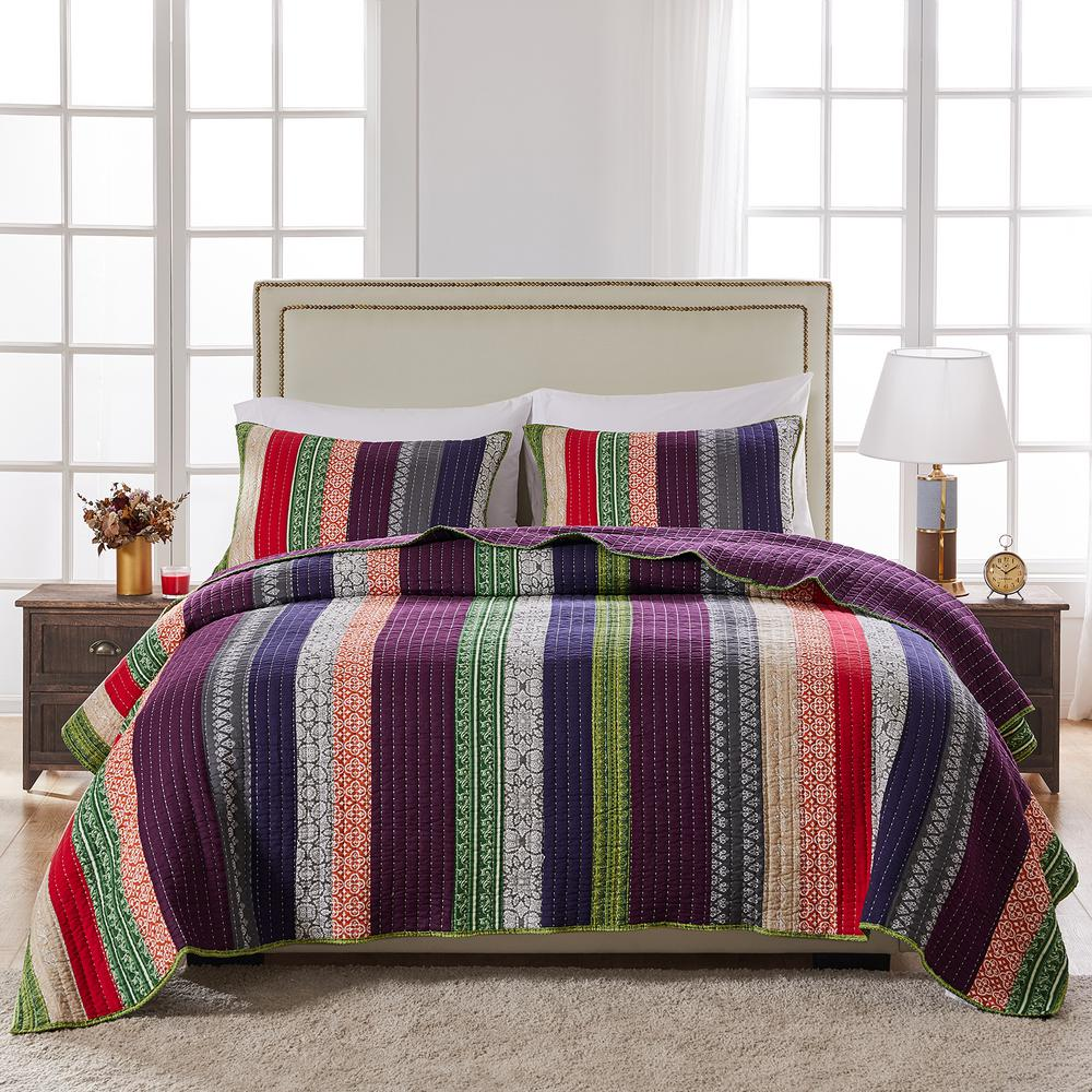 Marley 3-Piece King Quilt Set