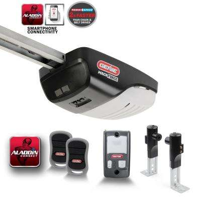 MachForce Screw Drive 2 HPc Garage Door Opener with Aladdin Connect