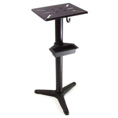 32 in. Bench Grinder Pedestal Stand with Water Pot