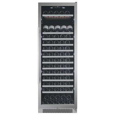 151-Bottle Built-in Wine Cooler with Argon Filled Double Paned Glass