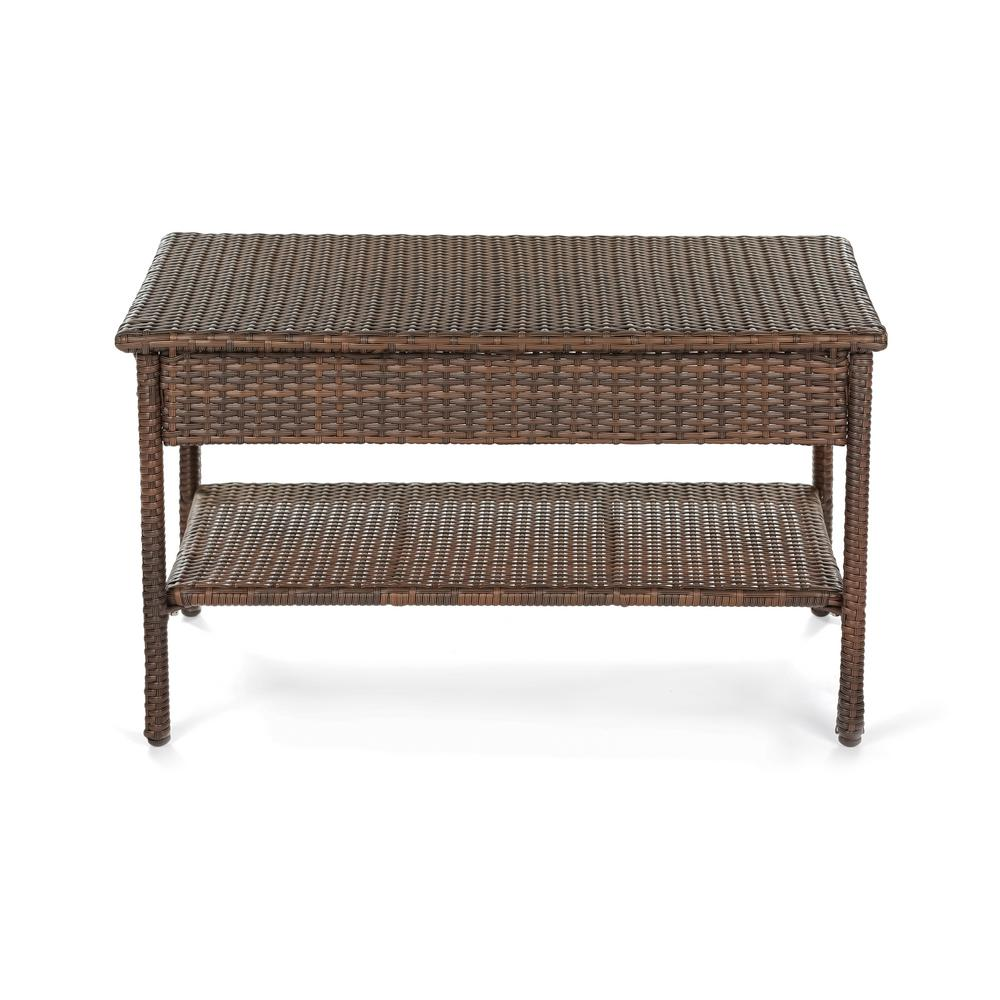 W Unlimited Galleon Collection Wicker Outdoor Patio Coffee