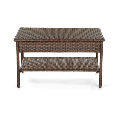 Galleon Collection Wicker Outdoor Patio Coffee Table