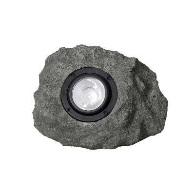 Solar Grey Outdoor Integrated LED Landscape Spot Light