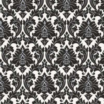 Majestic Black Removable Wallpaper ...