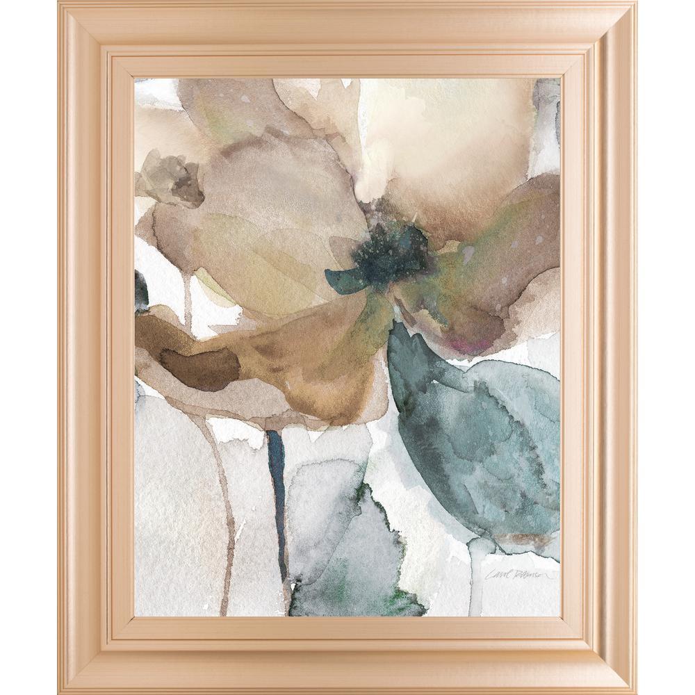 "22 in. x 26 in. ""Watercolor Poppy I"" by Carol Robinson Framed Printed Wall Art"
