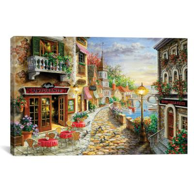 """""""Invitation To Dine"""" by Nicky Boehme Canvas Wall Art"""