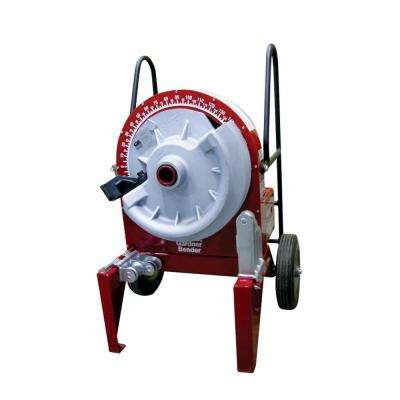 1/2 in.-2 in. Electric Powered Sidewinder Bender with Rigid Shoe Group