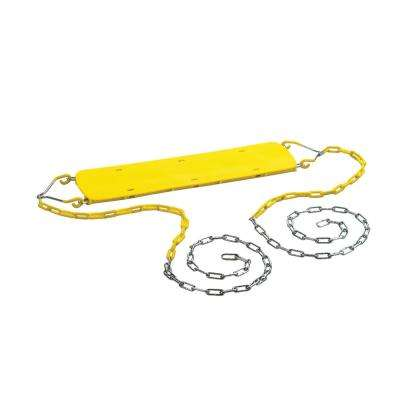 Beginner Swing Seat with Chains- Yellow