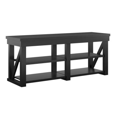 Carlyle 60 in. Black TV Stand for TVs up to 60 in.