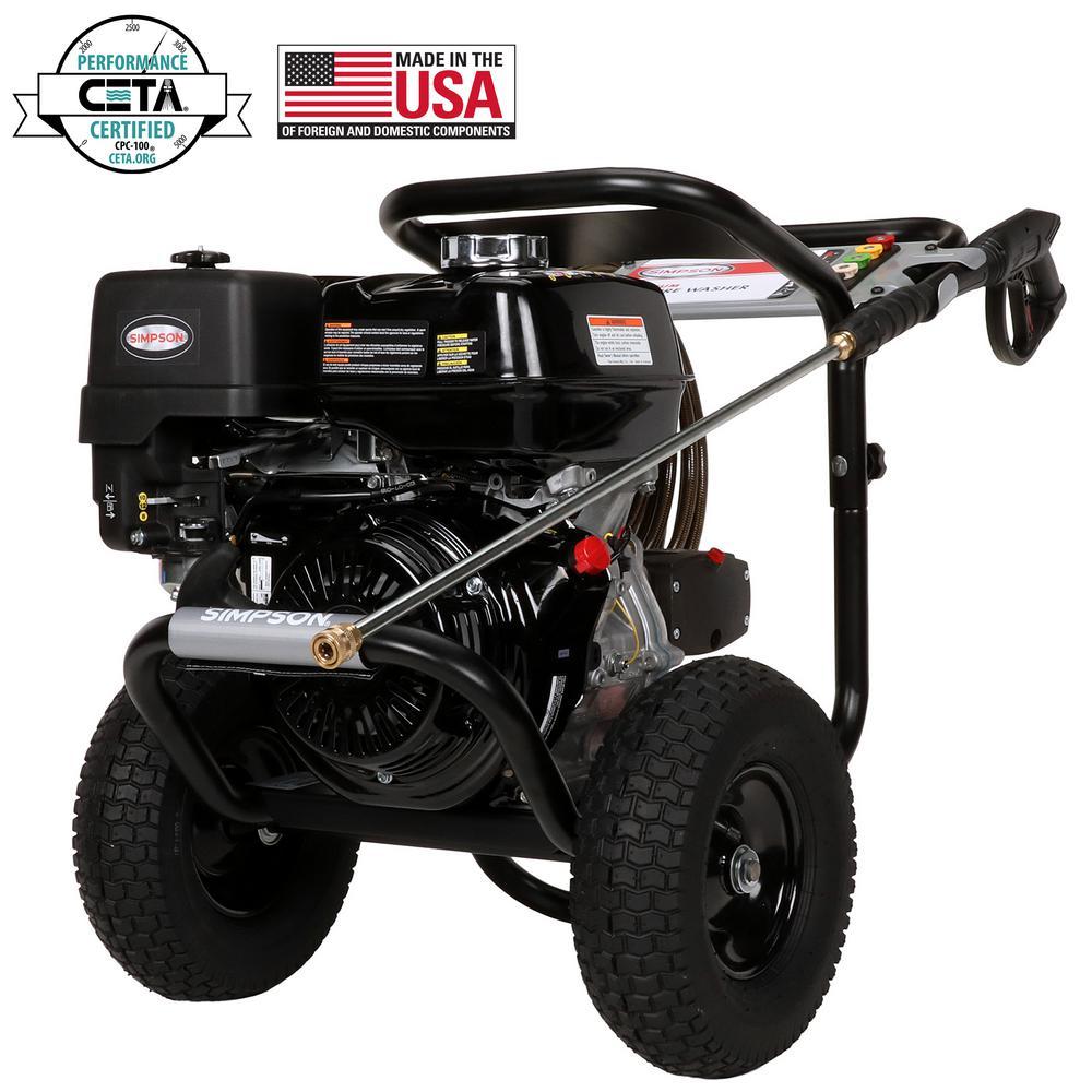 Simpson Powershot 4200 Psi At 40 Gpm Honda Gx390 With Aaa Triplex 2 Hp Baldor Motor Wiring Diagram Pump Professional Gas Pressure