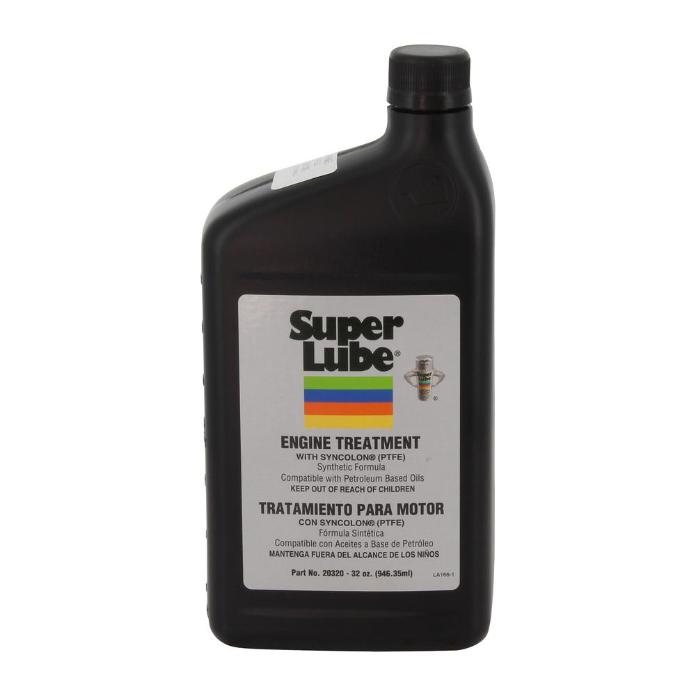 Super Lube 1 qt. Bottle Engine Treatment Additive-20320 - The Home Depot