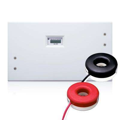 200 Amp Mini Meter Kit with 2 Solid CTs and Indoor Enclosure, White