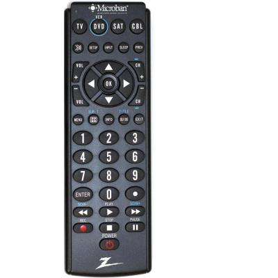 4-Device Big Button Remote Control - Microban