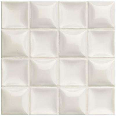 Duna Nacar Cream Pearl 7-7/8 in. x 7-7/8 in. Ceramic Wall Tile