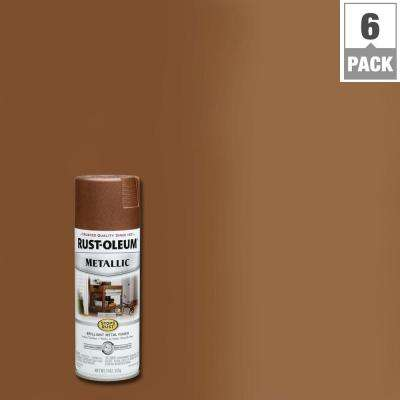 11 oz. Vintage Metallic Copper Protective Spray Paint (6-Pack)