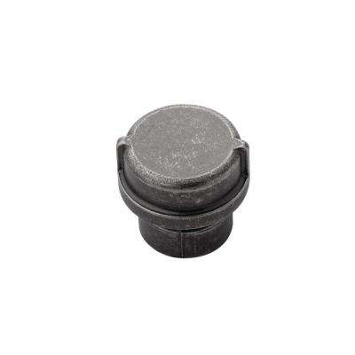 1-1/4 in. Pipeline Black Nickel Vibed Cabinet Knob