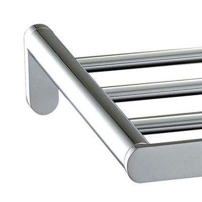 Oval 24 in. Towel Rack in Polished Chrome