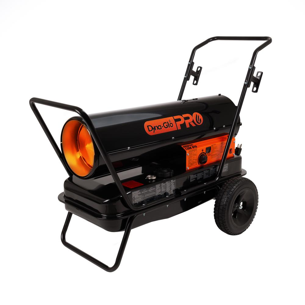 Dyna-Glo Pro 135K BTU Forced-Air Kerosene Portable Heater