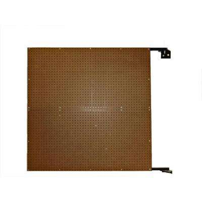 XtraWall 48 in. W x 48 in. H x 1-1/2 in. D Wall Mount Double-Sided Swing Panel Pegboard