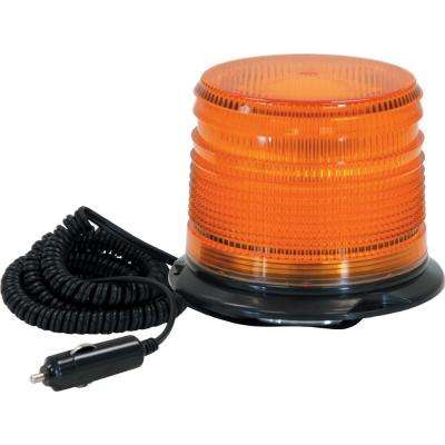 Amber Magnetic Mount Strobe Light