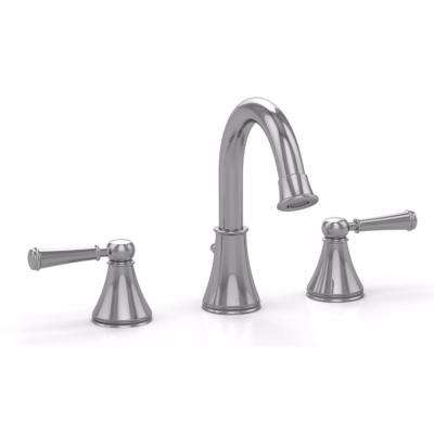 Vivian Alta 8 in. Widespread 2-Handle Bathroom Faucet with Lever Handles in Polished Chrome