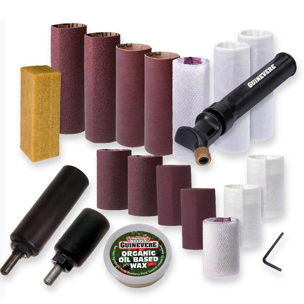 Guinevere Detail Kit for Sanding and Polishing
