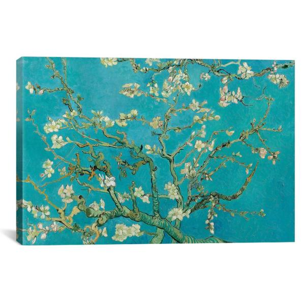 iCanvas ''Almond Blossom, 1890'' by Vincent van Gogh Canvas Wall Art