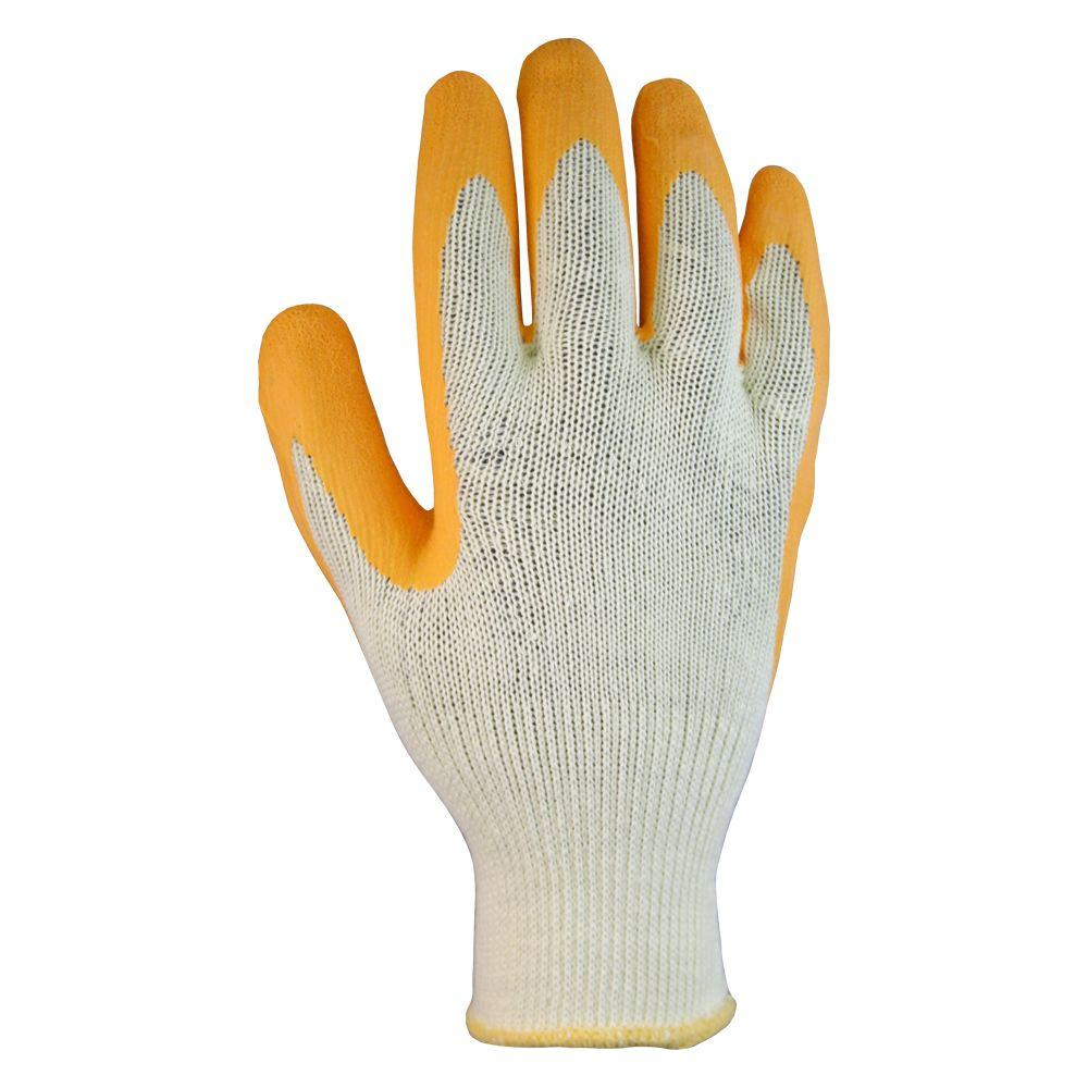 Firm Grip Cotton Latex Coated Glove - Medium