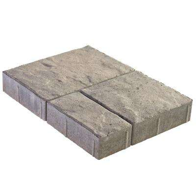 Panorama Demi 3-Piece  Antique Pewter Concrete Paver (240 Pcs. / 103 Sq. ft. / Pallet)