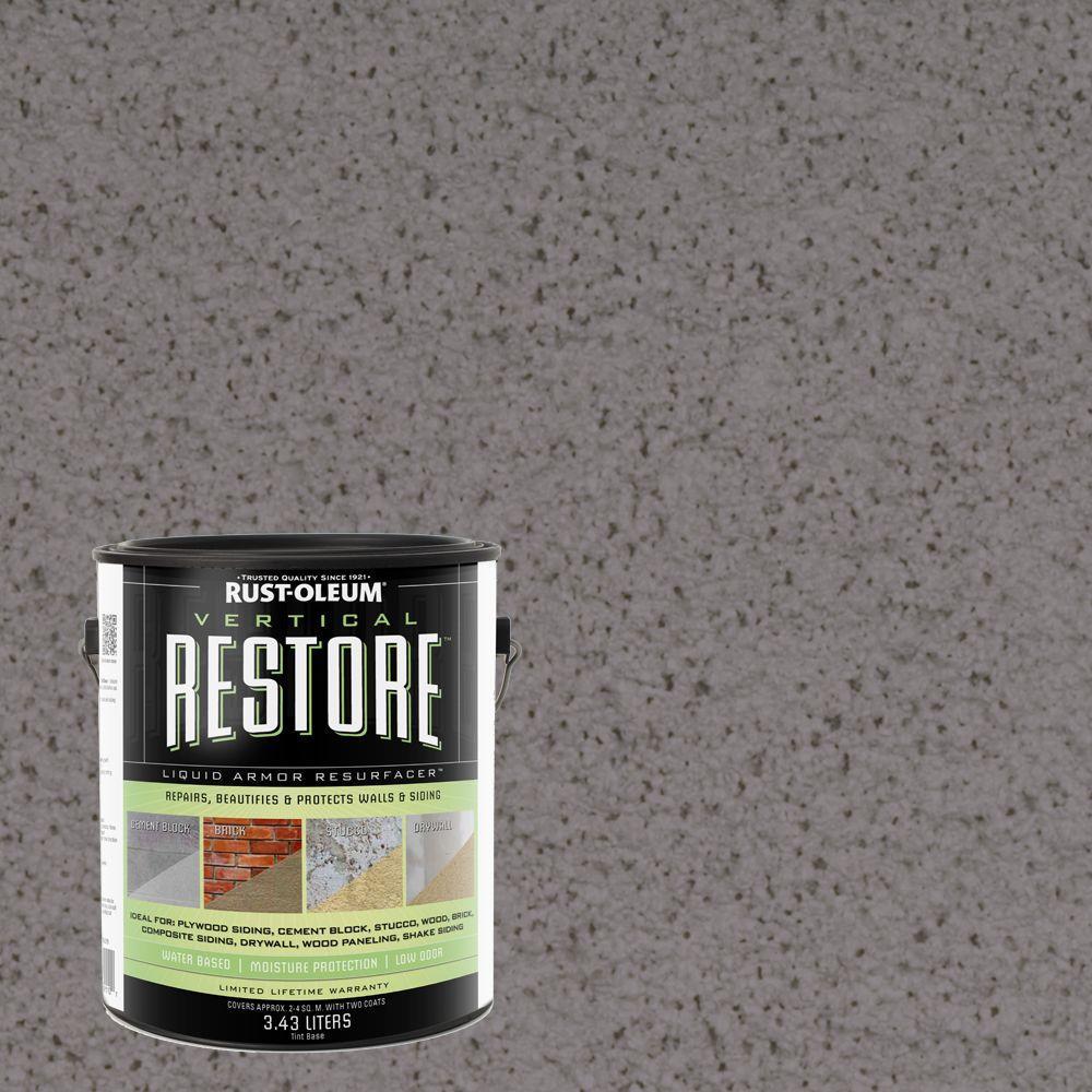 1-gal. Bedrock Vertical Liquid Armor Resurfacer for Walls and Siding