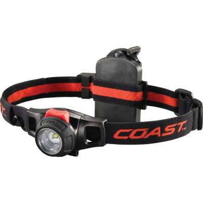 HL7R 240 Lumen Rechargeable LED Headlamp with Twist Focus, Accessories Included