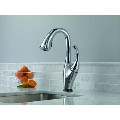 Addison Single-Handle Bar Faucet with Touch2O and MagnaTite Docking Technologies in Chrome