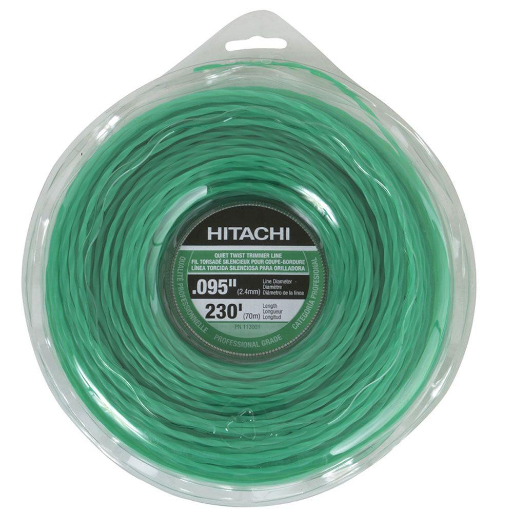 Hitachi 230 ft. Large Donut Quiet Twist Trimmer Line