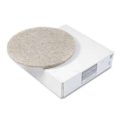 20 in. Ultra High-Speed Natural Hair Extra Floor Pads (Case of 5)