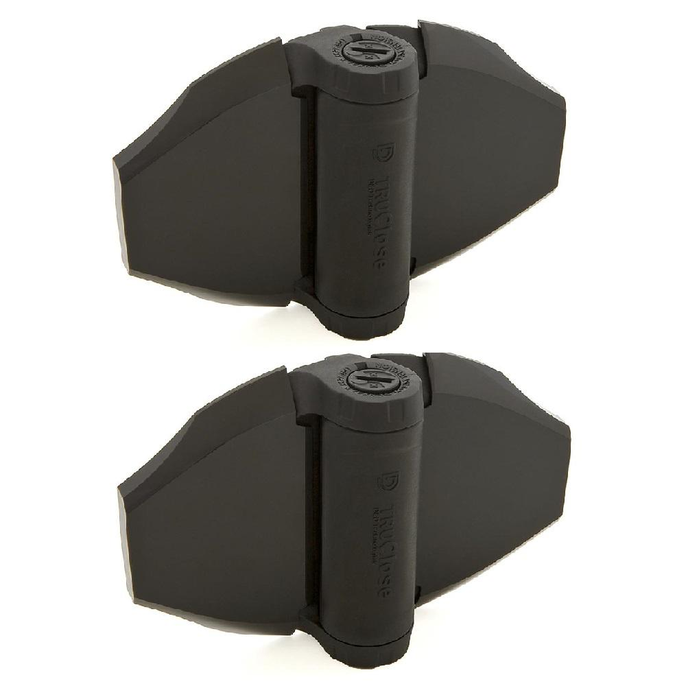 D&D 7 in. Heavy Duty Spring Hinges for Wood and Vinyl