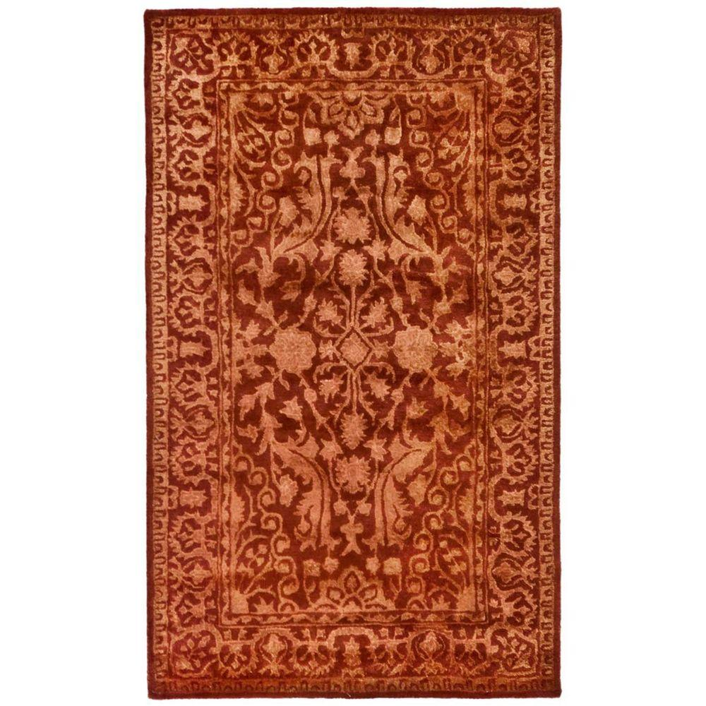 Safavieh Silk Road Rust 3 ft. x 5 ft. Area Rug