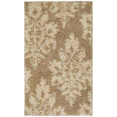 Meadow Damask Neutral 5 ft. 3 in. x 7 ft. 6 in. Area Rug