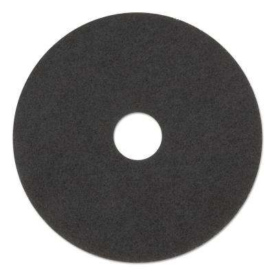 12 in. Standard Stripping Black Floor Pads (Case of 5)