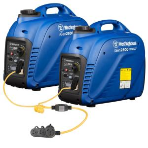 Westinghouse 5,000-Watt Super Quiet Gas Powered Inverter Generator Combination with Parallel Cord by Westinghouse