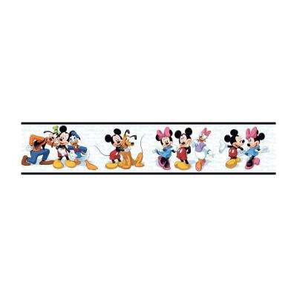 Disney Kids Mickey & Friends Wallpaper Border