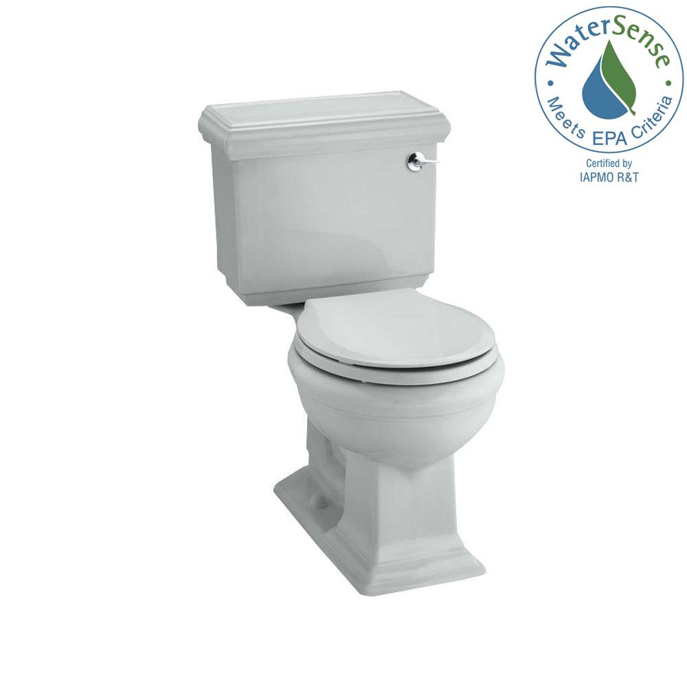Memoirs Classic 2-piece 1.28 GPF Single Flush Round Toilet in Ice