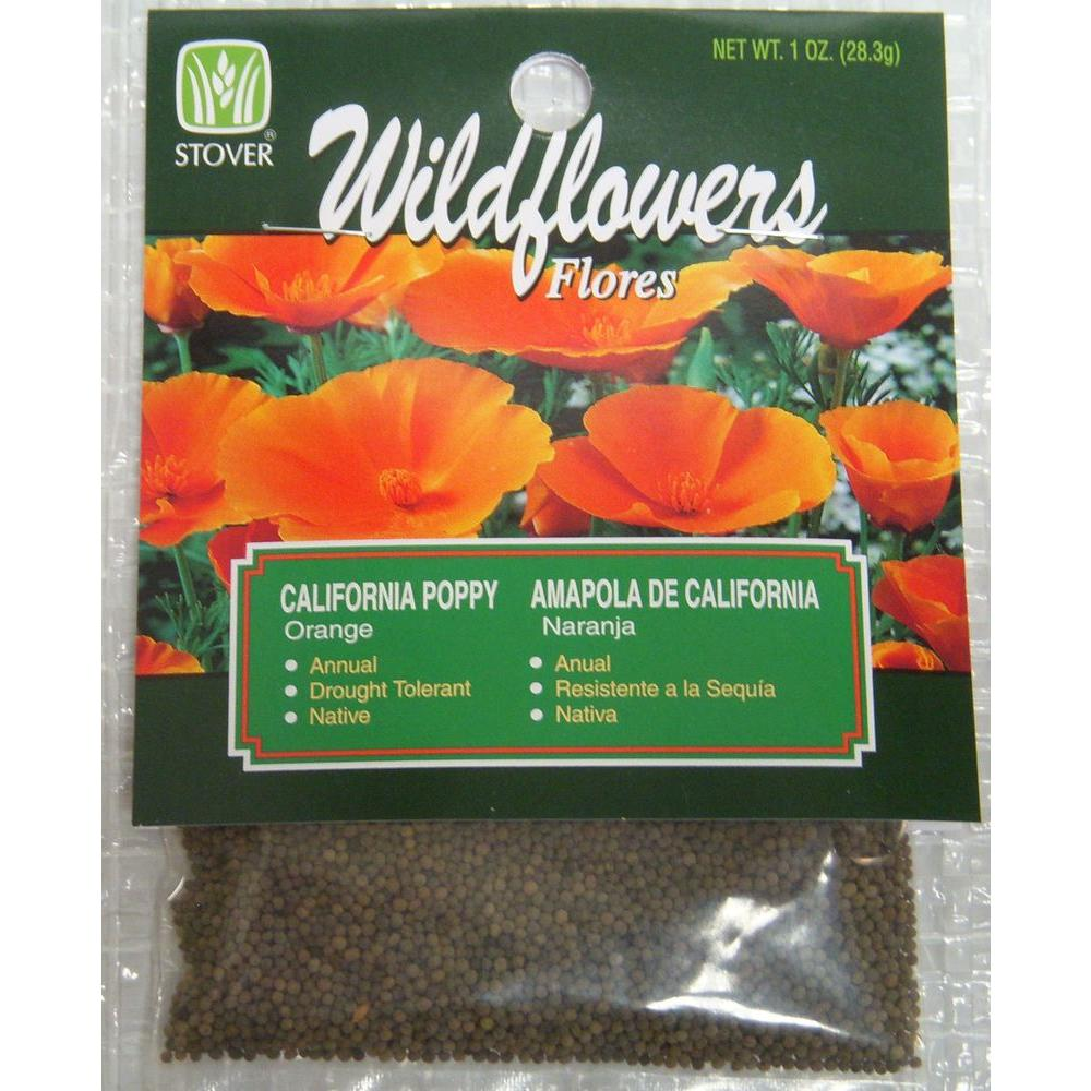 Stover california poppy seed 79010 6 the home depot stover california poppy seed mightylinksfo