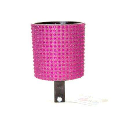 Bling Hot Pink Bicycle Drink Holder