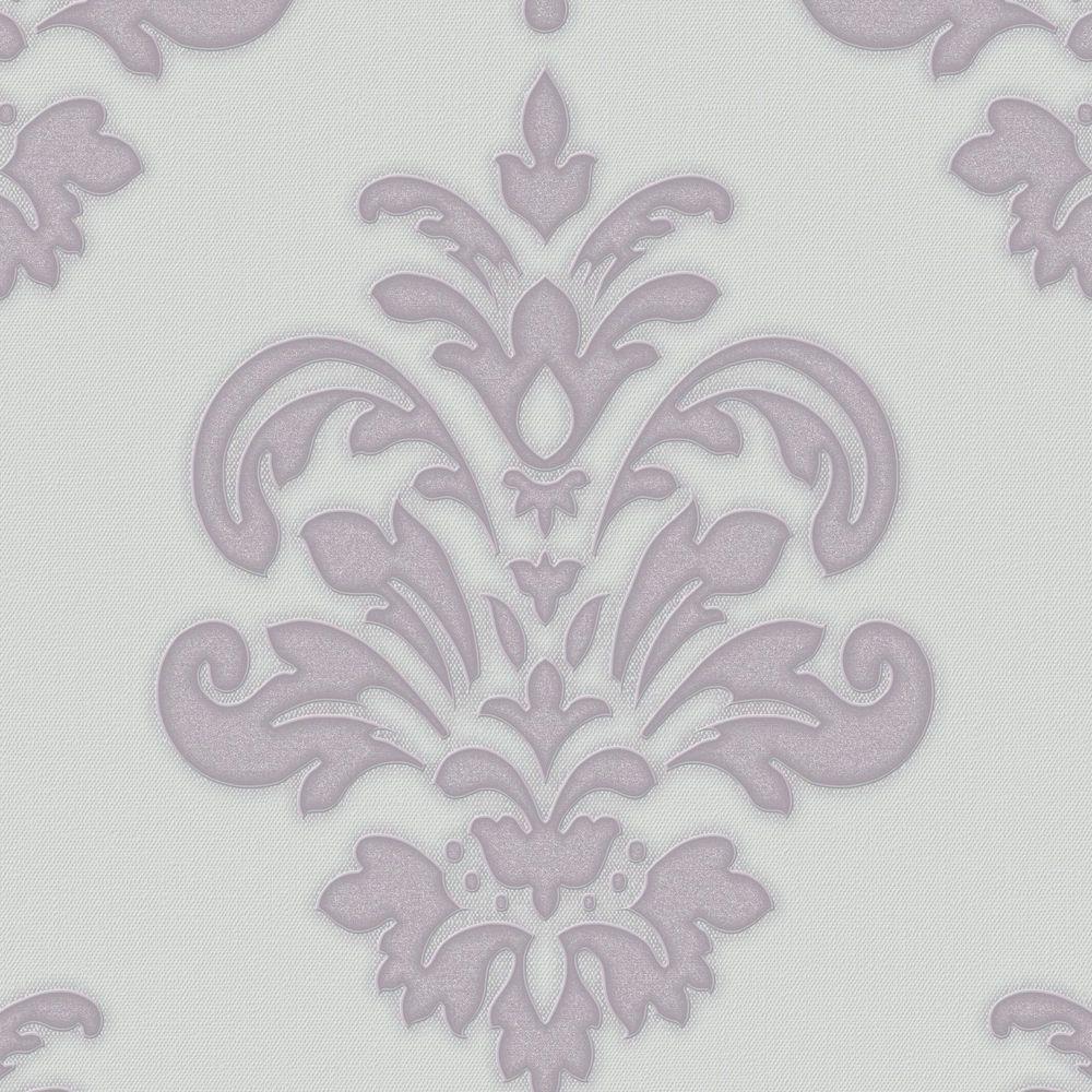 Graham Brown Lilac Olana Wallpaper
