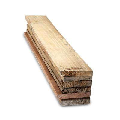 1 in. x 4 in. x 2 ft. Reclaimed Pallet Boards (6-Pack)