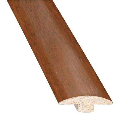 Vintage Hickory Cashmere 5/8 in. Thick x 2 in. Wide x 78 in. Length Hardwood T-Molding