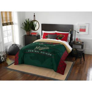 Wild Draft 3-Piece Multi-Color Polyester Full/Queen Comforter Set