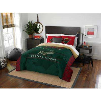 Wild Draft 3-Piece Multicolored Full Comforter Set