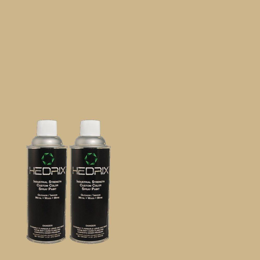 Hedrix 11 oz. Match of ECC-21-2 Palisade Low Lustre Custom Spray Paint (2-Pack)